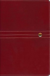 NIV Archaeological Study Bible, Bonded Leather Red 1984, Case of 6