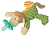 Mango Monkey WubbaNub ® Pacifier Holder
