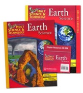 Holt Science & Technology: Earth Science Homeschool  Package with Teacher's Edition