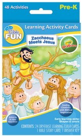 Dry Erase Activity Cards, Zacchaeus