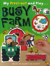 Press-Out & Play Busy Farm