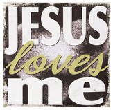 Jesus Loves Me, Wall Art