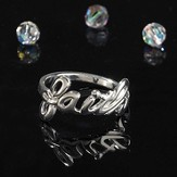 Faith Word Ring, Size 8