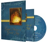 Good News of Great Joy Musical Christmas Card w/CD  - Slightly Imperfect