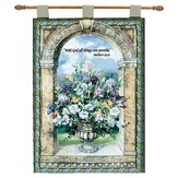 With God, All Things Are Possible Wallhanging