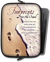 Footprints Tablet Case, Large