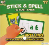 Stick & Spell Flash Cards: Spelling