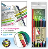 Bible Study Starter Set, Rainbow Bible Tabs