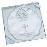 Christening Bib, Children Are a Gift, White