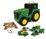 John Deere, Carry Case Value Set with 4 Vehicles