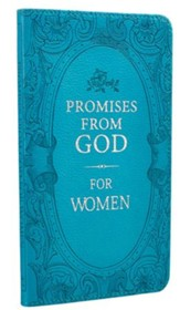 Promises from God for Women, Turquoise Imitation Leather