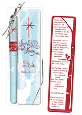Be Still and Know Pen and Bookmark Set