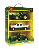 John Deere, 3 Vehicle Gift Set