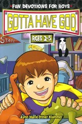 Gotta Have God Boys Devotional - Ages 2-5