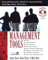 Youth Ministry Management Tools--Book and CD-ROM  - Slightly Imperfect