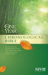 The One Year Chronological Bible NIV, Hardcover