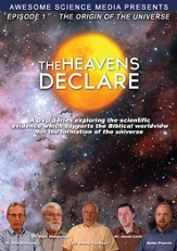 The Heavens Declare #1: Origin of the Universe, DVD