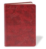 Names of Jesus LuxLeather Journal, Red