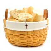 Cross Bowl Basket, White Liner