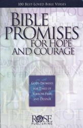 Bible Promises For Hope and Courage: God's Promises for Times of  Sorrow, Fear, and Despair
