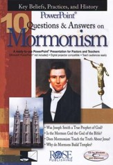 10 Questions & Answers on Mormonism: PowerPoint CD-ROM