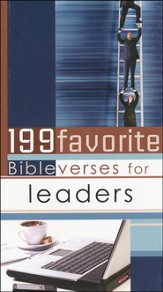 199 Favorite Bible Verses for Leaders