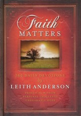 Faith Matters: 365 Devotions