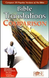 Bible Translations Comparison - 5 Pack