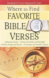 Where to Find Favorite Bible Verses (10 Pack)