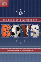 The One Year Book of Devotions for Boys - Slightly Imperfect