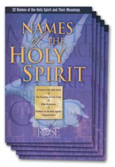 Names of the Holy Spirit Pamphlet - 5 Pack