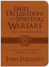 Daily Declarations for Spiritual Warfare with Prayer Journal: Biblical Principles to Defeat the Devil - Slightly Imperfect