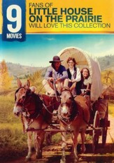 9 Films for Fans of Little House on the Prairie, 2-DVD Set