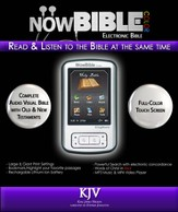 NowBible Color, KJV--Audio/Video Bible Reader (4GB)