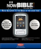 NowBible Color, NKJV--Audio/Video Bible Reader (4GB)