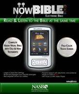 NowBible Color, NASB--Audio/Video Bible Reader (4GB)