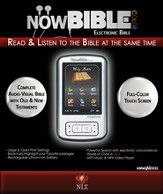 NowBible Color, NLT--Audio/Video Bible Reader (4GB)