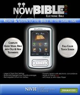 NowBible Color, NIV (Dramatized)--Audio/Video Bible Reader (4GB)