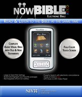 NowBible Color, NIV (Voice Only)-Audio/Video Bible Reader