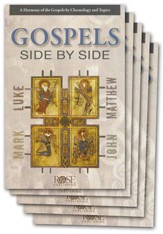 Gospels Side-by-Side Pamphlet - 5 Pack