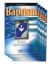 Baptism Comparison Pamphlet - 5 Pack