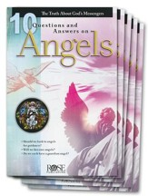10 Questions & Answers on Angels Pamphlet - 5 Pack