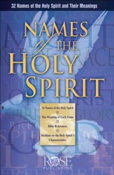 Names of the Holy Spirit - PowerPoint [Download]