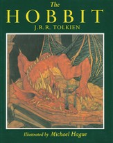 The Hobbit: Illustrated by Michael Hague, Hardcover