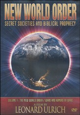 New World Order: Secret Societies and Biblical Prophecy, DVD  - Slightly Imperfect