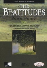 The Beatitudes: PowerPoint CD-ROM