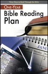 One-Year Bible Reading Plan, Pamphlet