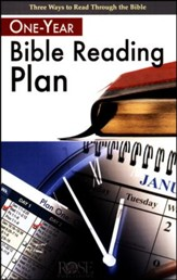 One-Year Bible Reading Plan Pamphlet - 5 Pack