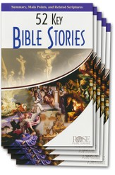 52 Key Bible Stories Pamphlet - 5 Pack