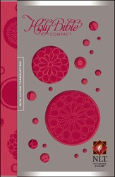 NLT Compact Edition, Bloom-a-dot Leatherlike